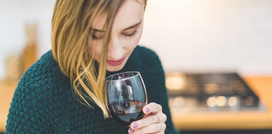 Les femmes et le vin